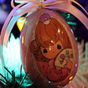 Precious Moments Christmas Ornament Art Print