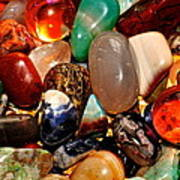 Precious Stones Art Print by Frozen in Time Fine Art Photography
