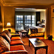 Premier Balcony Suite At The Sagamore Resort  Art Print