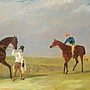 Preparing To Start For The Doncaster Gold Cup 1825 Art Print