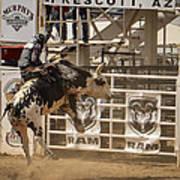 Prescott Az Rodeo Art Print by Jon Berghoff