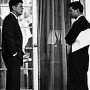 President John Kennedy And Robert Kennedy Art Print