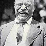 President Theodore Roosevelt Print by American Photographer