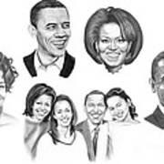 Presidential Print by Murphy Elliott