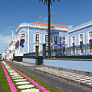Presidential Palace - Azores Art Print