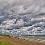 Presque Isle Beach 12061 Art Print