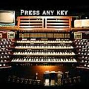 Press Any Key Art Print