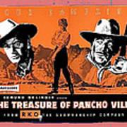 Pressbook The Treasure Of Pancho Villa 1955 Art Print