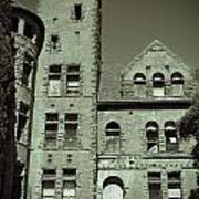Preston Castle Tower Art Print