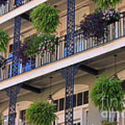 Pretty Balcony Art Print