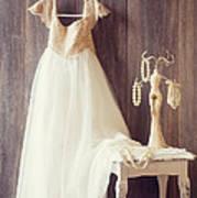 Pretty Dress Art Print