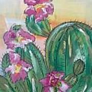 Prickly Pear Art Print by Karen Carnow