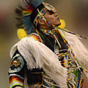 Pow Wow Native Pride 2 Art Print