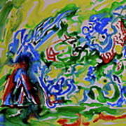 Primary Study II Finding The Way Art Print