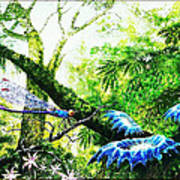Primeval Forest Art Print
