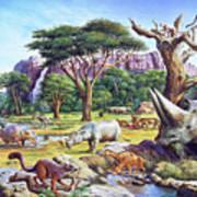 Primitive Mammals Art Print