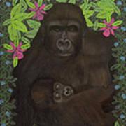 Primordial Spirit Of Motherhood Art Print