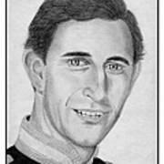 Prince Charles In 1981 Print by J McCombie
