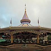 Prince Charmings Regal Carousel Art Print