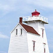 Prince Edward Island Lighthouse Art Print