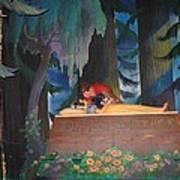 Prince Kisses Snow White Art Print