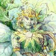 Prince Of Flowers Art Print