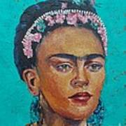 Princess Frida Art Print by Lilibeth Andre