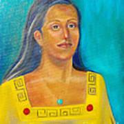 Princess Izta Art Print by Lilibeth Andre