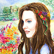 Princess Kate Art Print