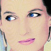 Princess Lady Diana Art Print