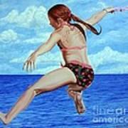 Princess Of The Ocean - Princesa Del Oceano Art Print