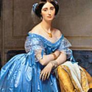 Princesse Albert De Broglie Nee Josephine Eleonare Marie Pauline De Galard De Brassac De Bearn Art Print