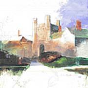 Princeton Blair Hall Art Print