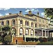 Princeton New Jersey - The Princeton Inn - 1925 Art Print