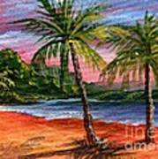 Princeville Kauai Art Print by Darice Machel McGuire