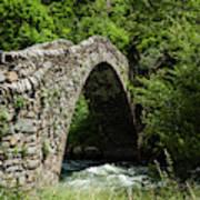Principality Of Andorra. Pont De La Art Print