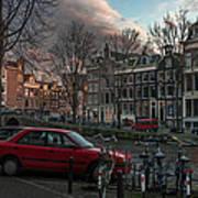 Prinsengracht 791. Amsterdam. Art Print
