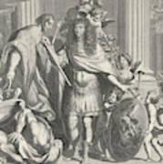 Print Of Aegidius Le Maistre 1665, Upper Part Art Print