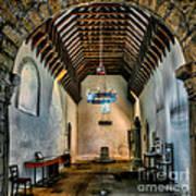 Priory Church Of St Seiriol Art Print by Adrian Evans