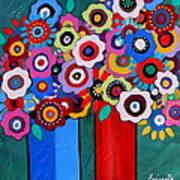 Prisarts Florals II Art Print