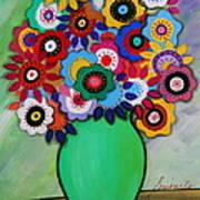 Prisarts Florals IIi Art Print
