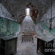 Prison Cell At Eastern State Penitentiary Art Print