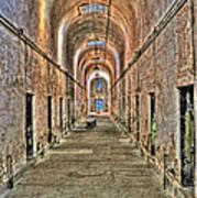 Prison Cells Art Print