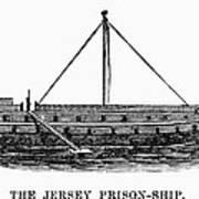 Prison Ship: Jersey Art Print by Granger