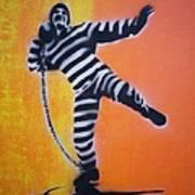 Prisoner Shotput Art Print