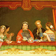 Private Box, Drury Lane, 1837 Art Print