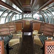 Private Dome Rail Car  Art Print