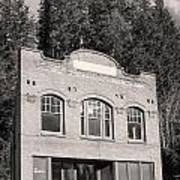 Private Wilkeson Town B And W Art Print