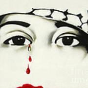 Pro-palestinian Slogan In Derry Art Print