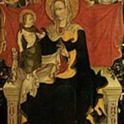 Probably Artista Veneziano, Madonna Art Print by Everett